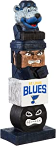 NHL St. Louis Blues FigurineTiki Totem, Team Colors, One Size