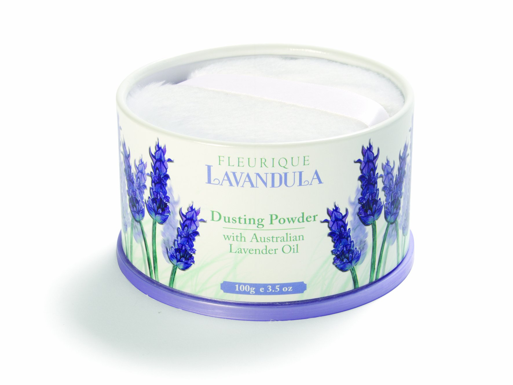 Lavender Talcum Powder with Powder Puff 100gm Perfumed Talc