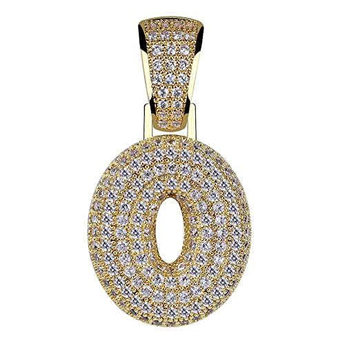 Amazon.com  HECHUANG Gold Plated Micropave Iced Out Bling 0 0201740fcbf3