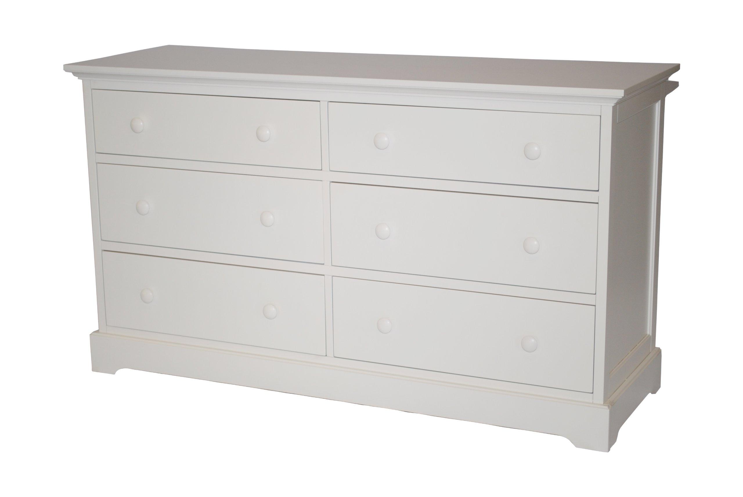 Munire Chesapeake Double Dresser - White