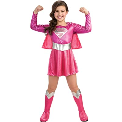 Rubie's Pink Supergirl Child's Costume, Toddler: Toys & Games