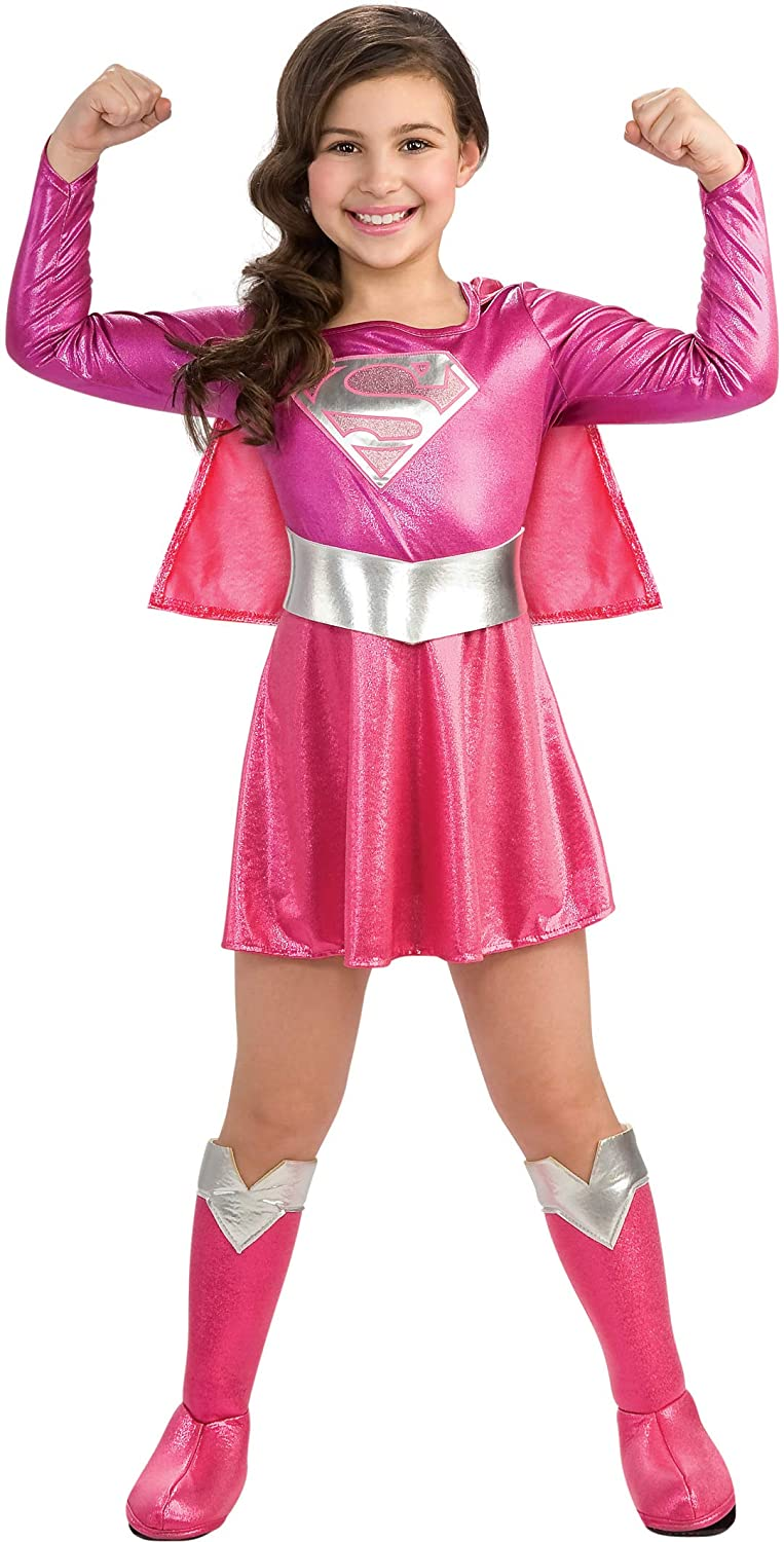 Child's Pink Supergirl