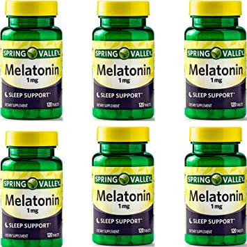 Amazon.com: Spring Valley - Melatonin 1 mg, 120 Tablets by Spring ...
