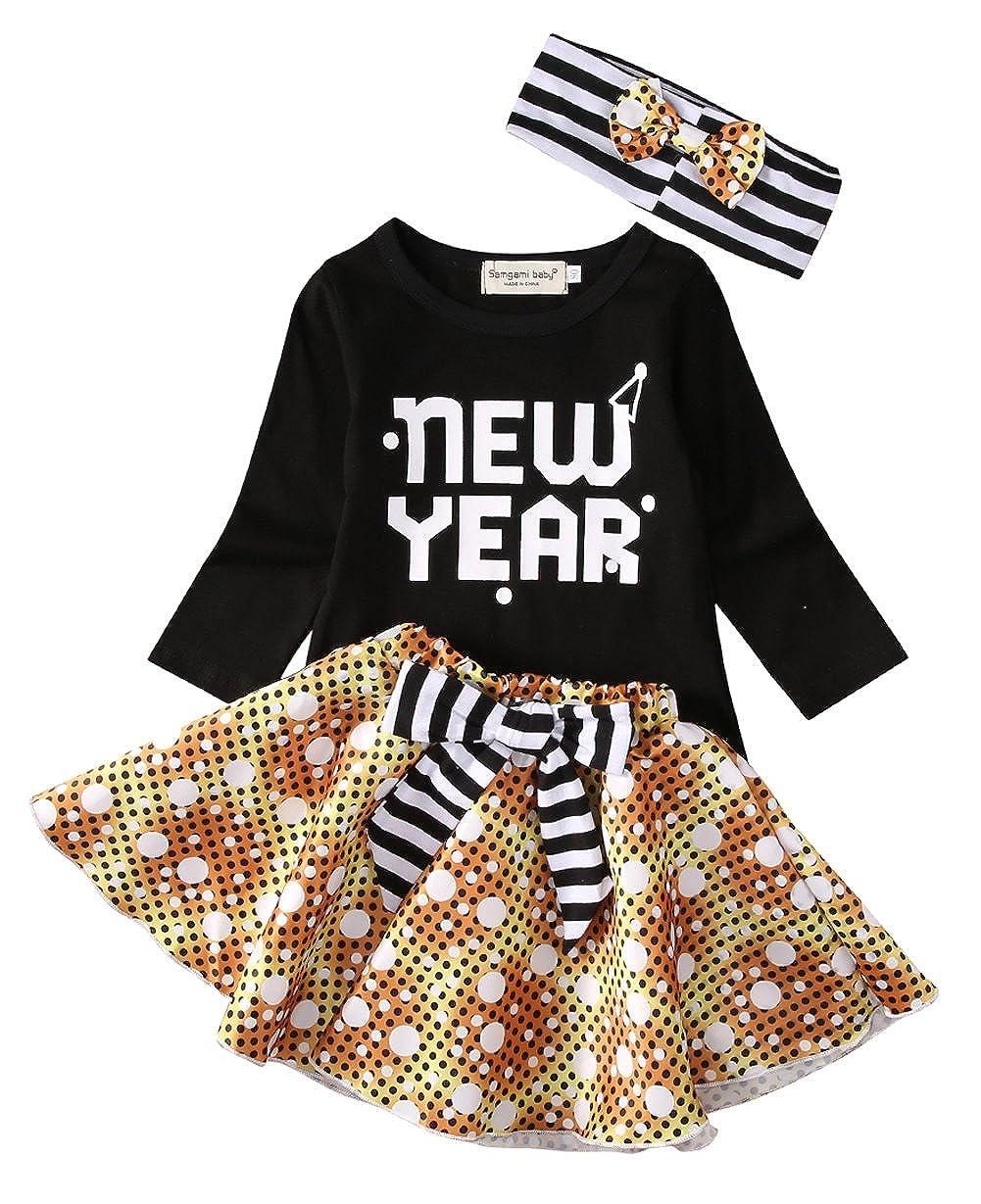 【公式】 女の子洋服セット新しい年キュートTop 12 +ドット柄チュチュフリルスカートヘアバンド 6 - 6 12 Months - B01M7T0RHJ, 知床興農ファームWEB直売店:ba7fe2de --- quiltersinfo.yarnslave.com