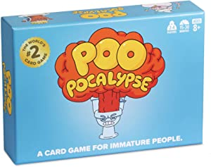 Poo Pocalypse Card Game - The Hilarious Family Party Game for Kids & Adults. [Perfect for Family Game Night]