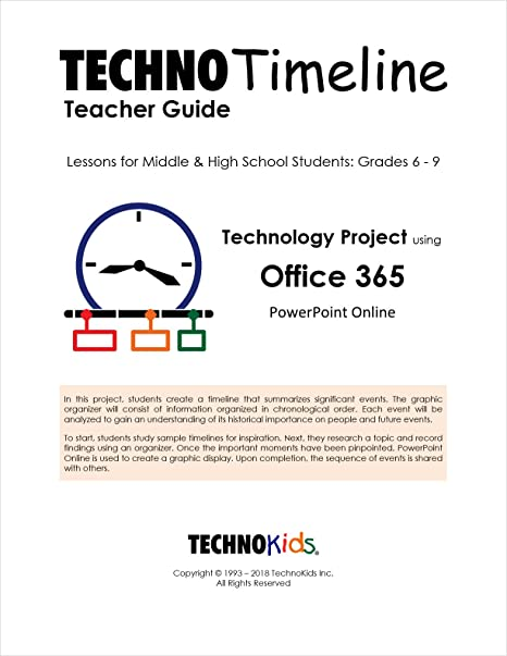 Sample Timeline For Students | Amazon Com Technotimeline Build A Timeline For Kids History