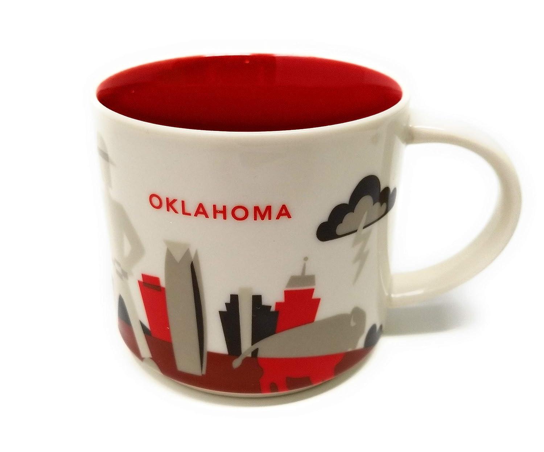Amazon.com | Starbucks Oklahoma Mug {NEW} You Are Here Collection ...
