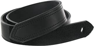 product image for Boston Leather 1.5in. Hook And Loop Tipped Leather Belt (32, Black)