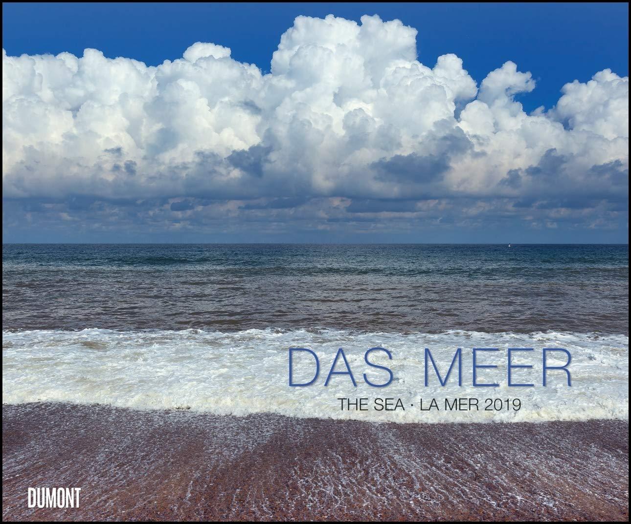 Das Meer 2019 – Natur-Fotografie – Wandkalender 58,4 x 48,5 cm – Spiralbindung