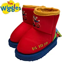 The Wiggles Big Red Car Boots Children's Kids Shoes Indoor Outdoor