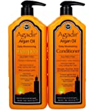 Agadir Argan Oil Daily Moisturizing Shampoo 33.8 Oz + Conditioner 33.8 Oz