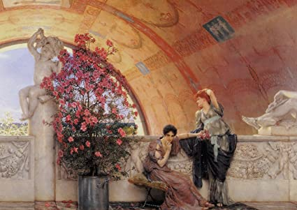 Authoritative answer, Sir lawrence alma tadema seems