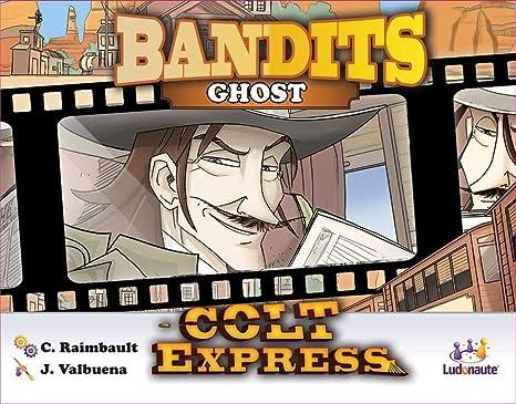 Asmodee- Colt Express: Bandits Pack Ghost Expansion en Castellano, Color (LUCOEX09NA): Amazon.es: Juguetes y juegos