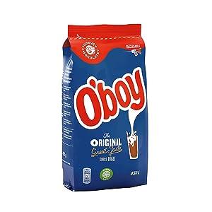 3 x Oboy Original Swedish Hot Chocolate - Cacao - Bag 450g NEW O'boy design