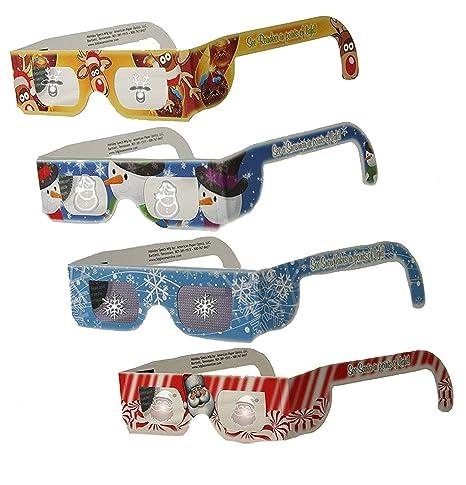 Amazon.com: Los niños de la Navidad – Gafas ojos (TM) – 10 ...