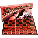 OIG Brands Checker Board Game Set Checkers Folding Game - Great Checkered Board Toy