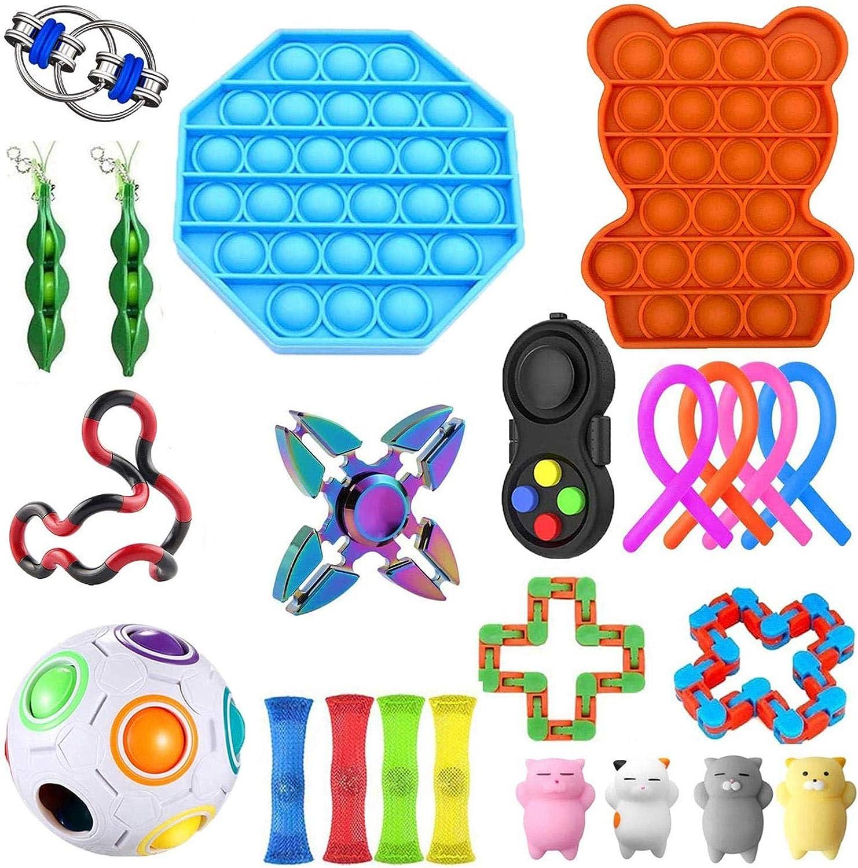 Shakala Fidget Spielzeug Set, Autism Sensory Toys, Anti Stress Spielzeug Set,Fidget Toys For Kids and Adults