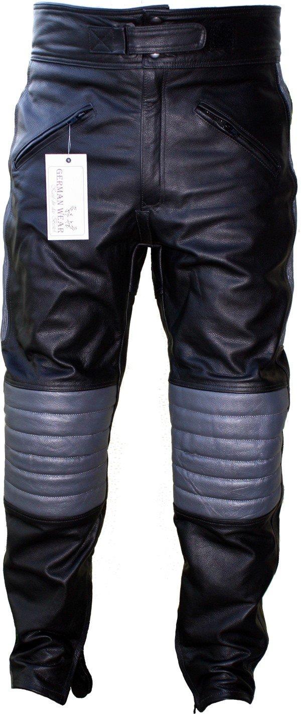 c0376ebd Vêtements de protection Vêtements de protection German wear pantalon de moto  pour femme en cuir noir