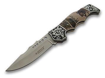 Hermoso cuchillo de caza - cuchillo plegable - Cuchillo de ...