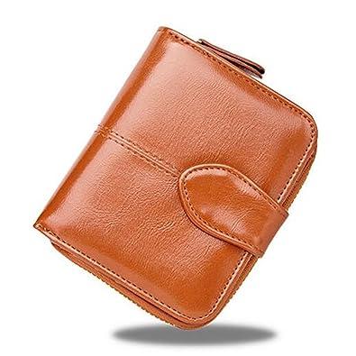 766527c20eb2 BOLUORY 財布 レディース ウォレット 二つ折 おしゃれ 人気 PU レザー カード 小銭入れ 二つ折財布