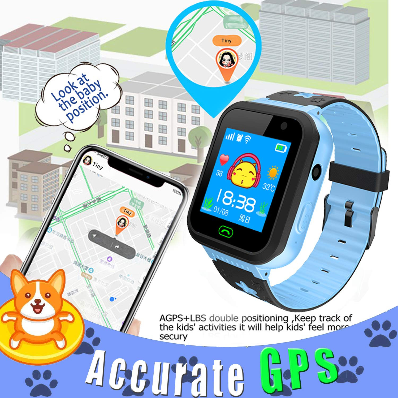 Amazon.com: Niños reloj inteligente GPS Tracker para Niños ...