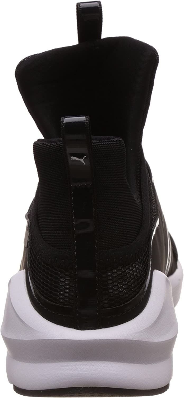 PUMA Fierce Swan Wn's, Chaussures de Fitness Femme Noir Puma Black Puma White 01