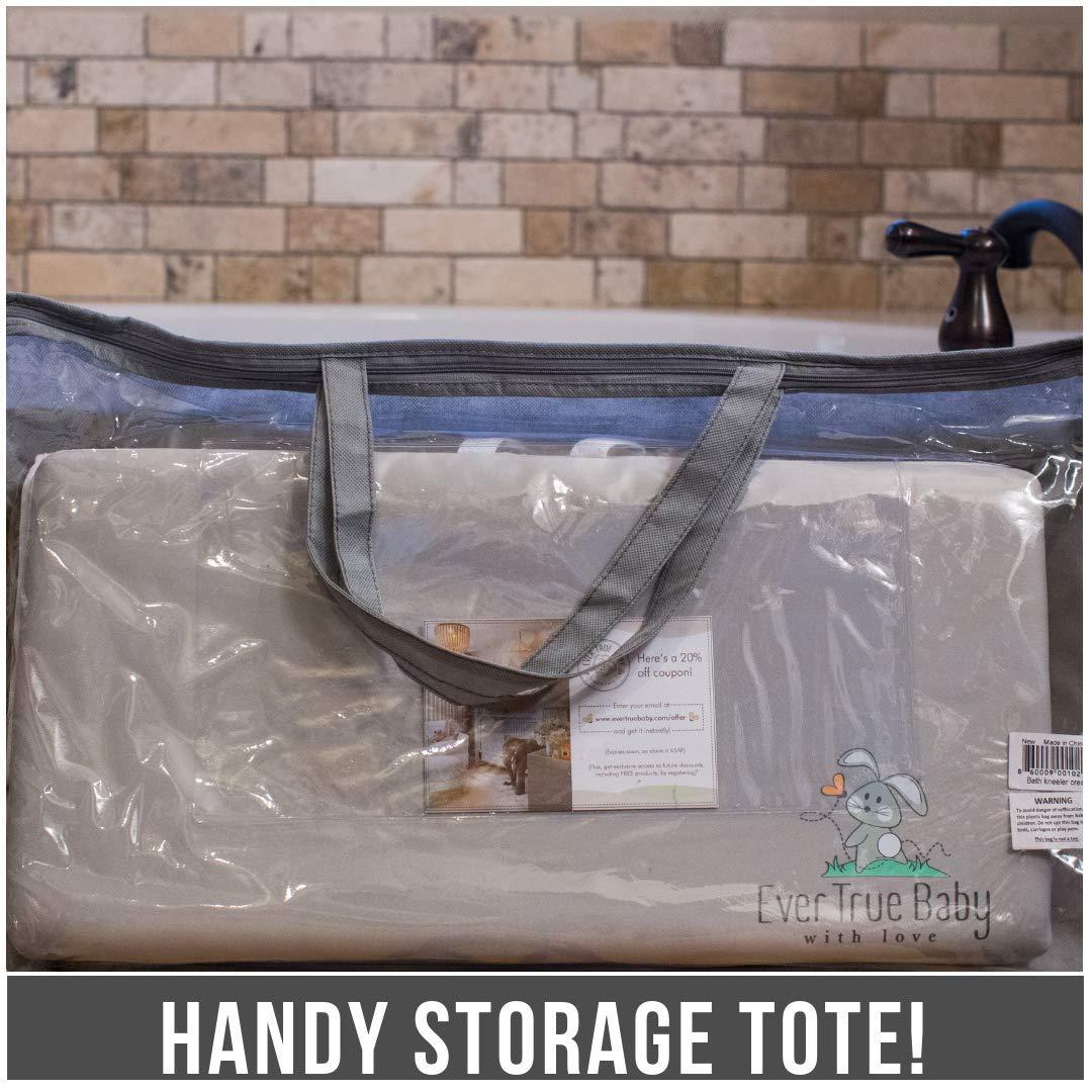 Amazon.com: evertrue bebé baño reclinatorio y codo Pad ...