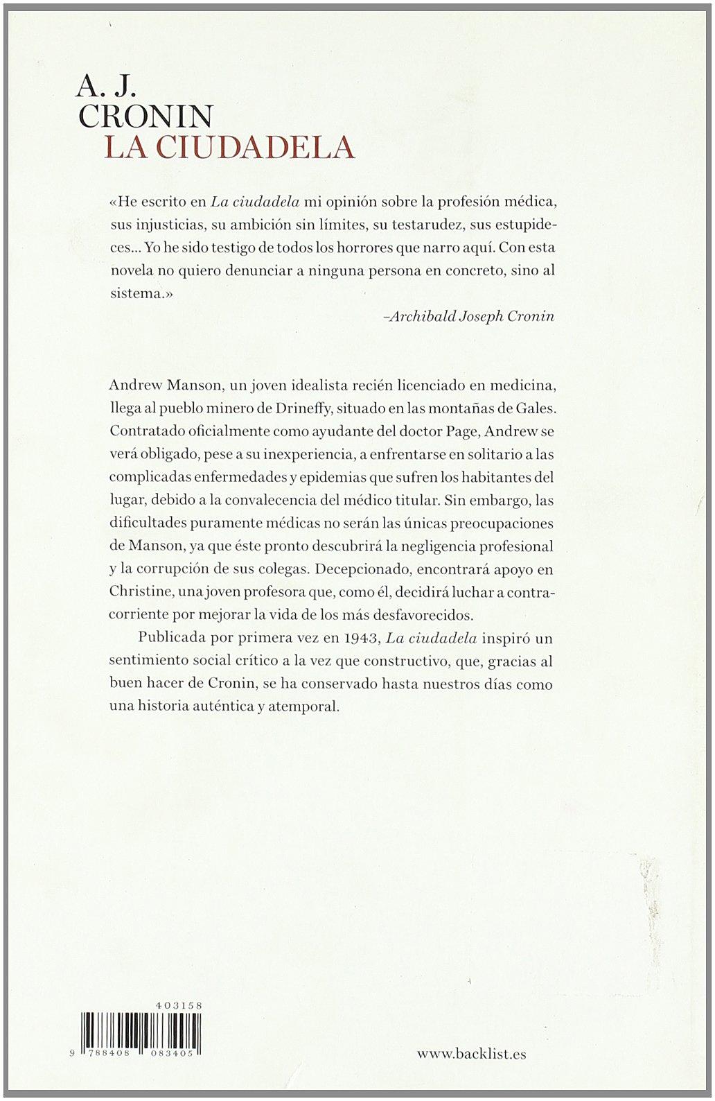 La ciudadela (BackList Contemporáneos Ficción): Amazon.es: A. J. ...