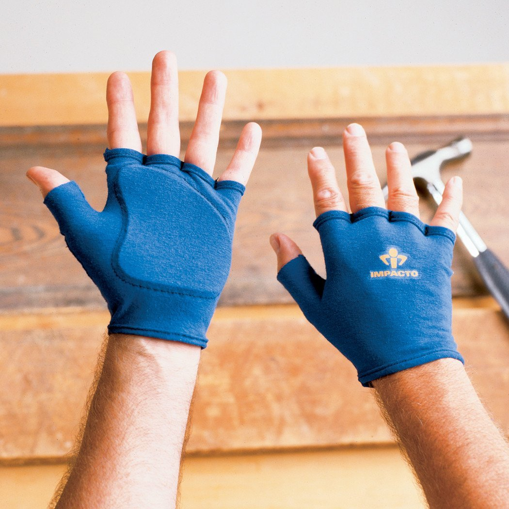 Impacto Ergonomic Anti-Impact Glove Liner - Medium - Pair