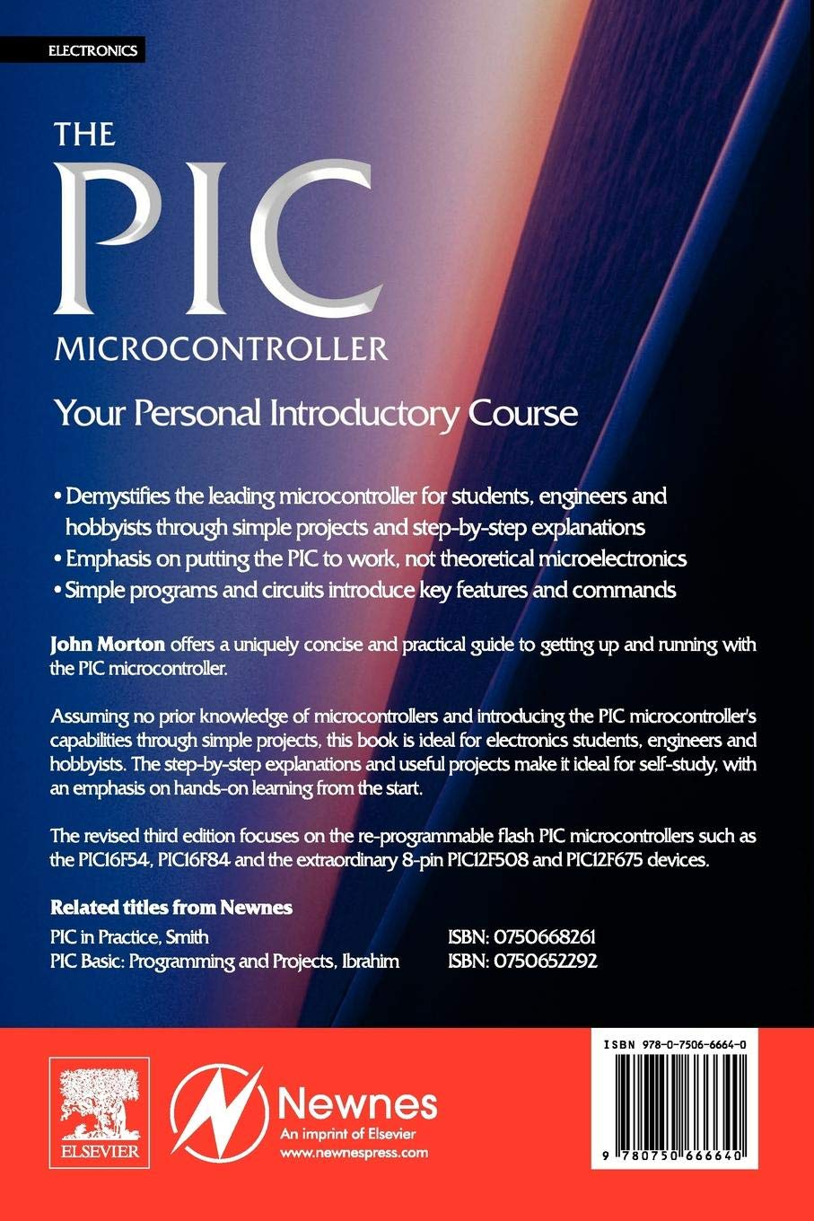 Buy The PIC Microcontroller: Your Personal Introductory