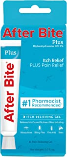 product image for After Bite Plus Insect Bite Treatment with Antihistamine – Itch Relief + Pain Relief for Bug Bites and Minor Skin Irritations