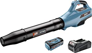 SENIX BLAX5-M 58 Volt 520 CFM Max, 129 MPH Max Cordless 3 Speed Blower with Turbo for Use B25X5 Lithium Ion Battery