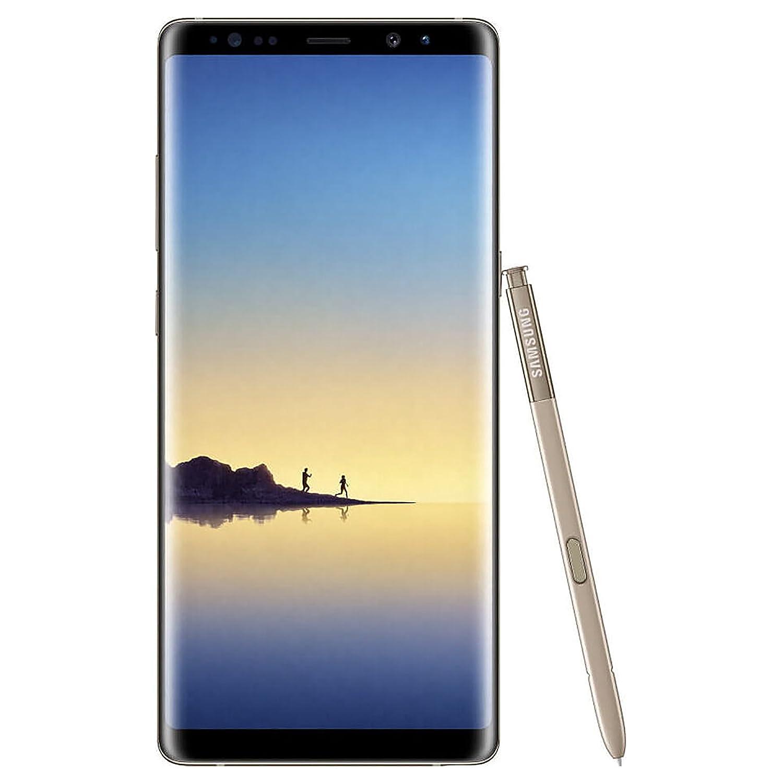 Samsung Galaxy Note8 SM-N950F 64GB Factory Unlocked GSM Smartphone - International Version - Maple Gold (Certified Refurbished)