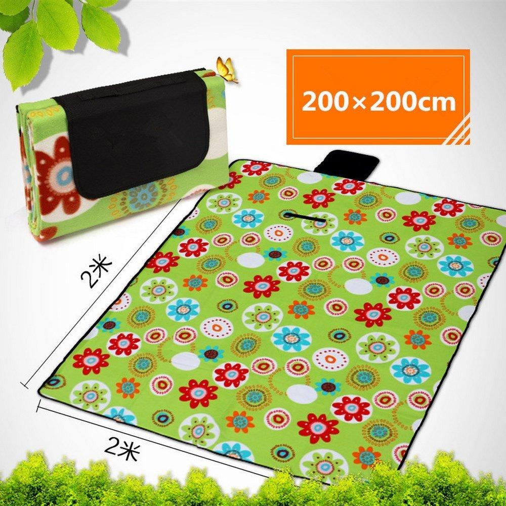 DOGYEARDAJI Outdoor Feuchtigkeit Pad Wasserdichte Faltbare Strandmatte Portable Picknick Mat B07CWDCPGX Picknickdecken Sonderangebot