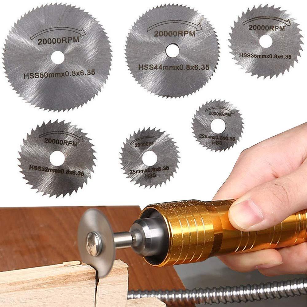 25 x 25 x 6.35 Internal Grinding Wheel Die Jig Model Tool for Hard Steels Pk 5