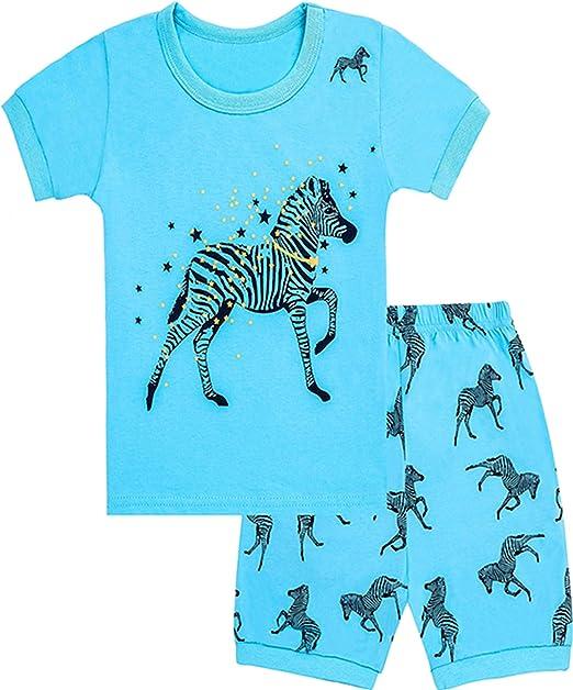 WWAXU - Pijama para niñas y niños, diseño de estrellas, 100% algodón: Amazon.es: Ropa y accesorios