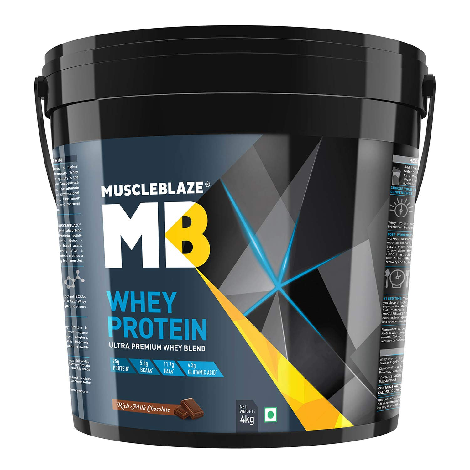 Muscleblaze 100% Whey Protein Supplement Powder