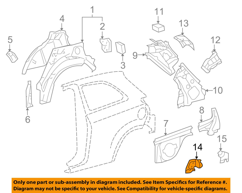 TOYOTA Genuine 61692-0D020 Seat Back Lock Striker