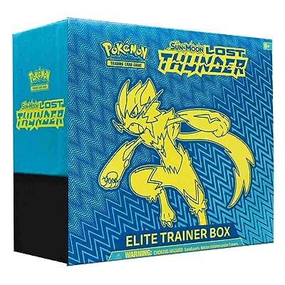 Pokemon SM8 Lost Thunder Elite Trainer Box: Toys & Games