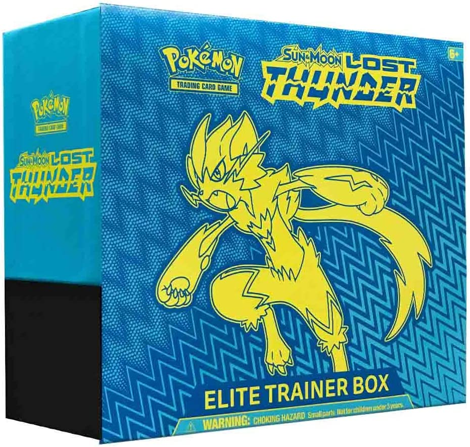 Pok/émon Dragon Majesty Elite Trainer Box and Pok/émon TCG Burning Shadows Elite Trainer Box Bundle 1 of Each