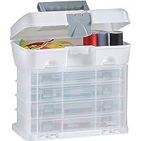 VonHaus - Caja de herramientas con 4 cajones