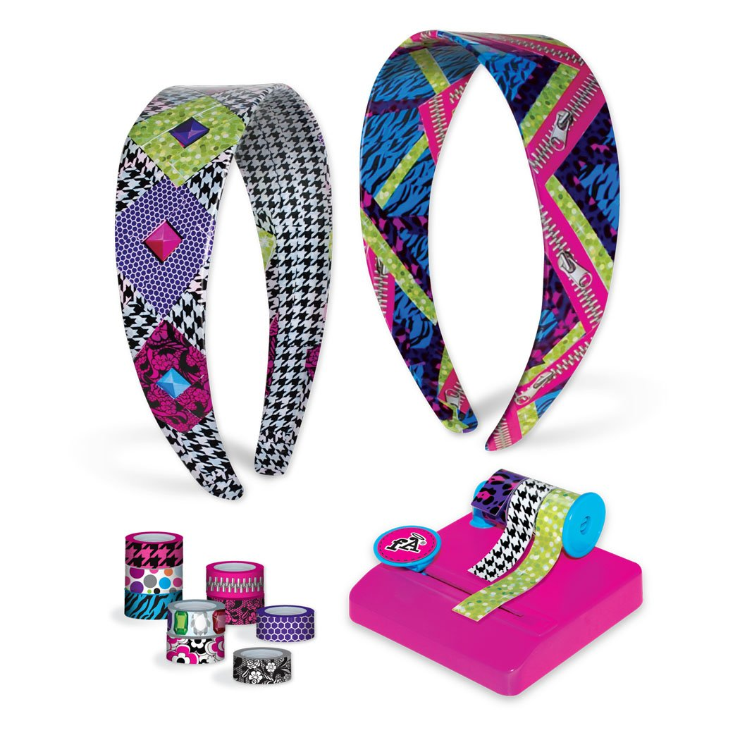 Amazon.com: Fashion Angels Tapeffiti Headband Kit: Toys & Games