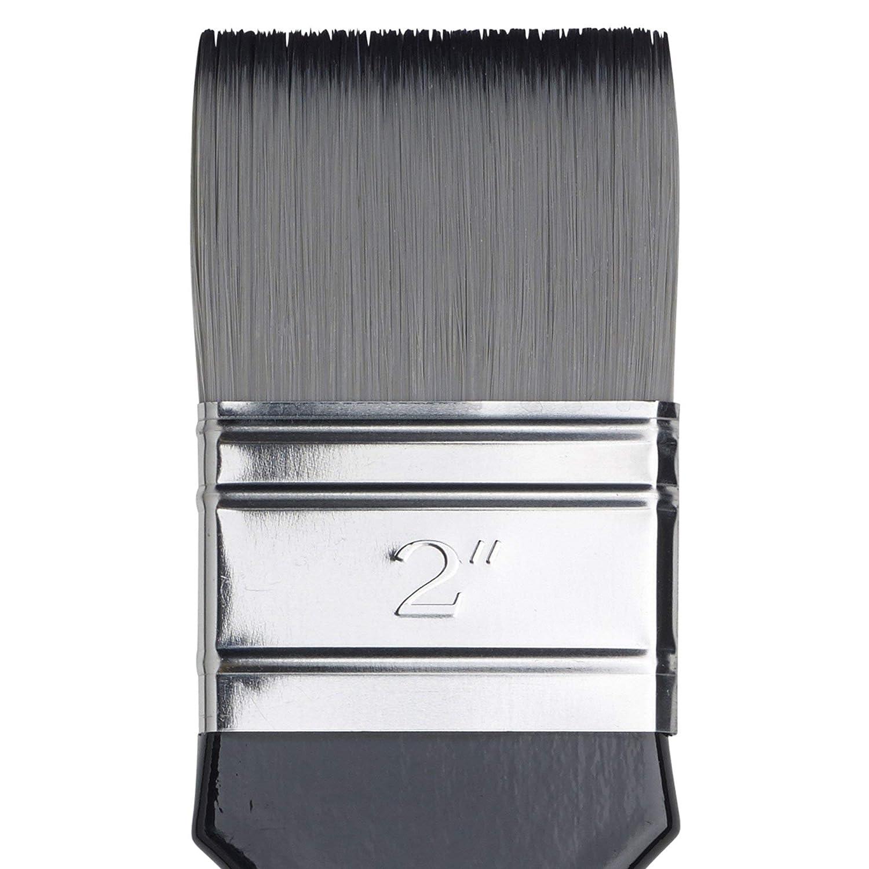 Winsor /& Newton Artists Acrylic Brush Short Filbert Size 6