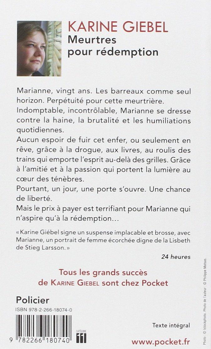 Meurtres Pour Redemption Karine Giebel 9782266180740