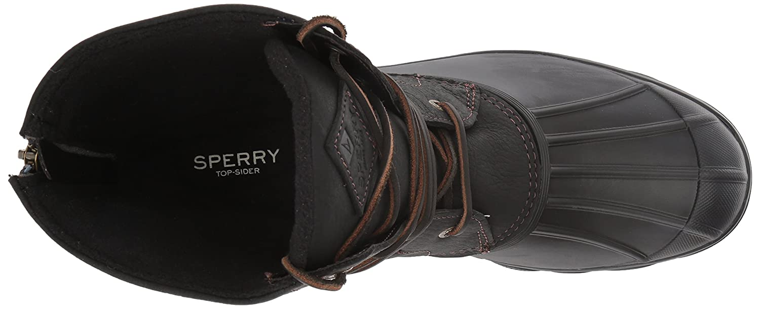 Sperry Top-Sider Women's Saltwater B01MTA39NB Wedge Tide Rain Boot B01MTA39NB Saltwater 7.5 B(M) US|Black ba18c1