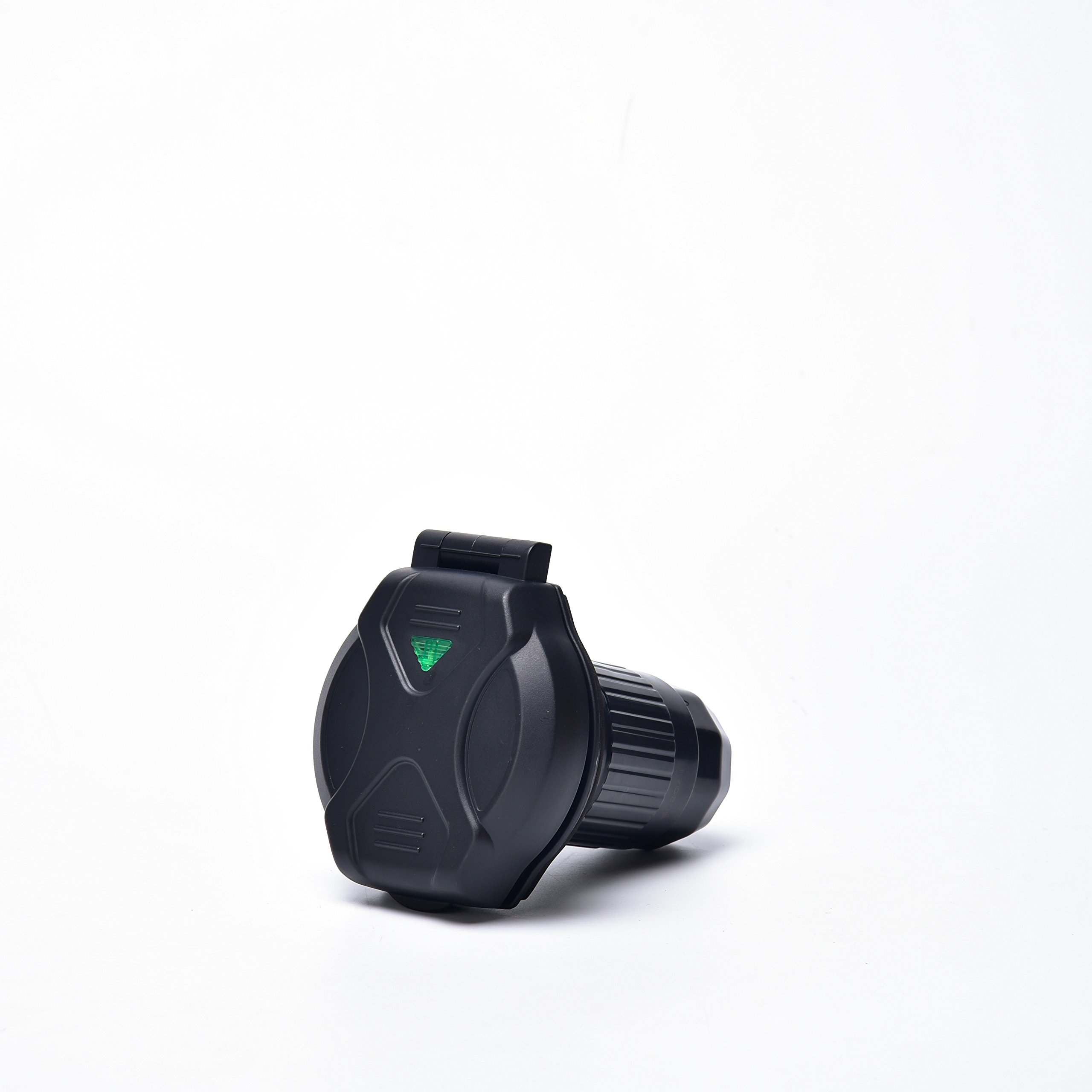 Epicord 50A RV Power Twist Lock Inlet (Blackwith Light)