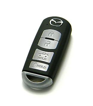 Mazda Keyless Entry Remote 4-Button Smart Key (FCC ID: WAZSKE13D01 / P