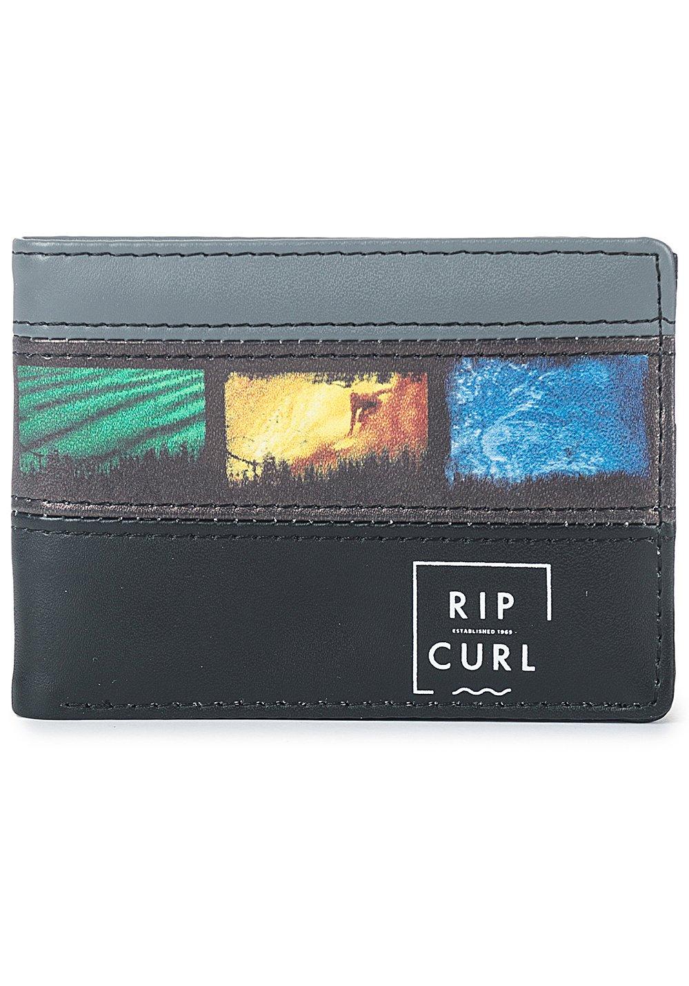 Rip Curl Slim PU Split Monederos, 11 cm, litros, Negro ...