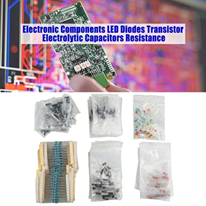 Electrolytic Electronic Component Capacitor Transistor DIY Kit Set New