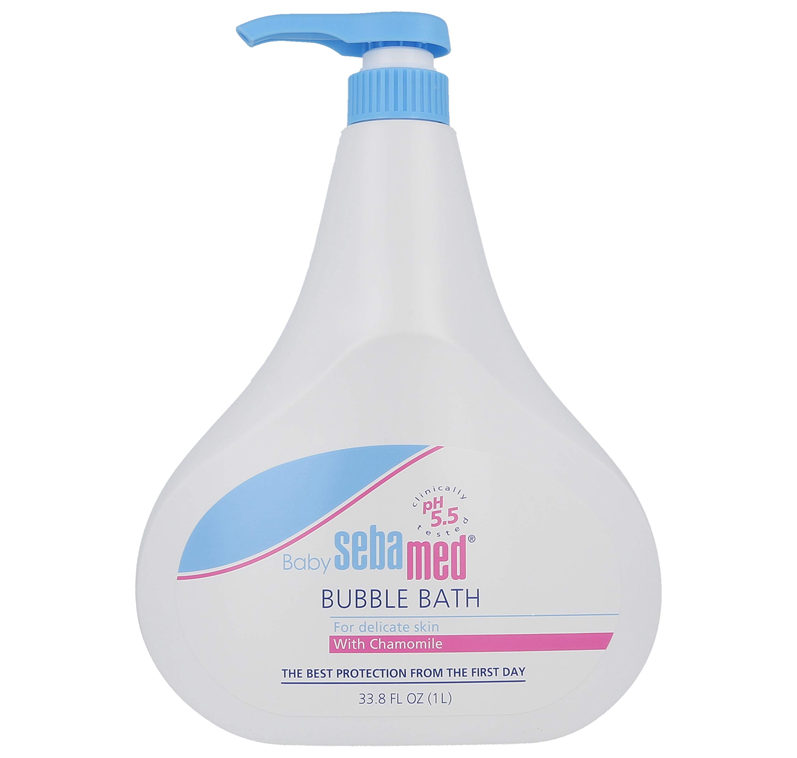 Sebamed No Tears No Phthalates Baby Bubble Bath with Pump, 1 L by SEBAMED